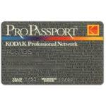 The Phonecard Shop: Italy, Pro Passport Kodak, italian text on back (membership card)