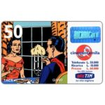 "The Phonecard Shop: TIM - Mandrake and Narda at dinner, ""La vita migliora"", 50 units"