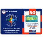The Phonecard Shop: TIM - Jubilaeum 2000, 50 units