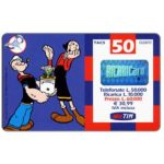 The Phonecard Shop: Italy, TIM - Popeye and Olive, 50 units
