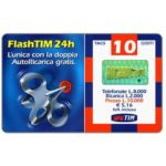 The Phonecard Shop: Italy, TIM - FlashTIM 24h, 10 units