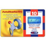 The Phonecard Shop: Italy, TIM - Autoricarica 190, 10 units