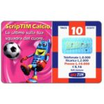 The Phonecard Shop: Italy, TIM - ScripTIM Calcio, 10 units