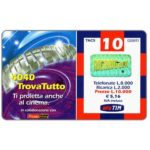 The Phonecard Shop: Italy, TIM - 4040 TrovaTutto, 10 units