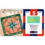 The Phonecard Shop: Italy, TIM - Orientiamoci con l'Euro, 5 units