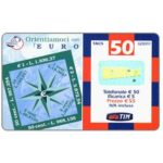 The Phonecard Shop: TIM - Orientiamoci con l'Euro, 50 units
