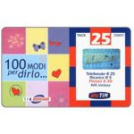 The Phonecard Shop: TIM - 100 modi per dirlo, St.Valentine's Day, 25 units