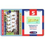 The Phonecard Shop: Italy, TIM - Italia-Francia 2000, Italian football team, 5 units
