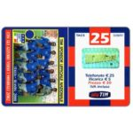 The Phonecard Shop: Italy, TIM - Italia-Olanda 2000, Italian football team, 25 units