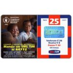The Phonecard Shop: TIM - Programma Alimentare Mondiale, 25 units