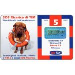The Phonecard Shop: Italy, TIM - SOS Ricarica di TIM, 5 units