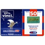 The Phonecard Shop: Italy, TIM - Milleuna TIM, Chiama, parla, vinci, 5 units