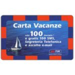 The Phonecard Shop: Italy, TIM - Carta Vacanze, 100 units