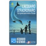 The Phonecard Shop: ATW - Acquario di Genova, 0 units (promo card)