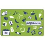 The Phonecard Shop: Italy, Auchan Regalami, 20€ (gift card)