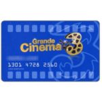 The Phonecard Shop: Italy, Grande Cinema 3 blue (cinema card)