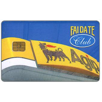 The Phonecard Shop: Italy, Agip Fai da Te Club (fuel loyalty card)