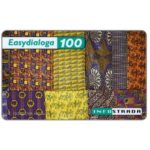The Phonecard Shop: Italy, Infostrada - EasyDialoga, Ethnic fabrics, 100 units