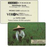 The Phonecard Shop: Italy, Infostrada - Extradialoga, 50 units, promo card realizzata da Veron S.P.A.