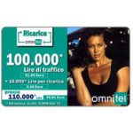 The Phonecard Shop: Omnitel - Megan Gale, 100.000 Lire