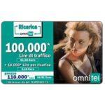 The Phonecard Shop: Italy, Omnitel - Tatiana Zavialova, 100.000 Lire
