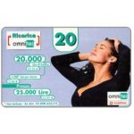 The Phonecard Shop: Omnitel Vodafone - Megan Gale, 20.000 Lire