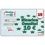 The Phonecard Shop: Omnitel Vodafone - European stars, 10 euro