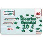 The Phonecard Shop: Italy, Omnitel Vodafone - European stars, 10 euro