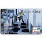 The Phonecard Shop: Italy, Omnitel Vodafone - Capo ufficio in carica, 30 euro