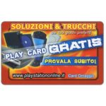 The Phonecard Shop: Italy, Soluzioni e trucchi Playstation (gift card)