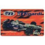 The Phonecard Shop: Planet Communication, Minardi Collections (promo card)