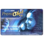 The Phonecard Shop: Adria.com - ProntOK, complimentary Lit.3.000