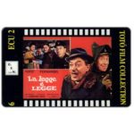 The Phonecard Shop: Italy, C.F.N. - Totò Film Collection n. 06 - La Legge è Legge, ECU 2