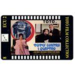 The Phonecard Shop: Italy, C.F.N. - Totò Film Collection n. 08 - Totò Contro i Quattro, ECU 2