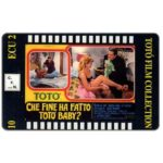 The Phonecard Shop: Italy, C.F.N. - Totò Film Collection n. 10 - Che Fine ha Fatto Totò Baby?, ECU 2