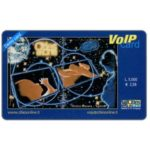 The Phonecard Shop: Italy, Cities on Line - Voip Card, L.5.000 / € 2,58