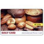The Phonecard Shop: Italy, Daily Card - Bread, 40 units / Lit. 10.000