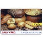 The Phonecard Shop: Italy, Daily Card - Bread, 40 units / Lire 10.000
