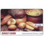 The Phonecard Shop: Italy, Daily Card - Bread, 50 units