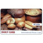 The Phonecard Shop: Daily Card - Bread, 50 units / Lit.15.000