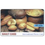 The Phonecard Shop: Italy, Daily Card - Bread, 100 units