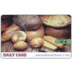 The Phonecard Shop: Italy, Daily Card - Bread, 10 €