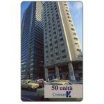 The Phonecard Shop: Italy, Global One - ComuniKa, twin towers, 50 units