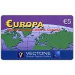 The Phonecard Shop: Vectone - Europa, € 5