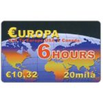 The Phonecard Shop: Vectone - Europa 6 hours, € 10,32