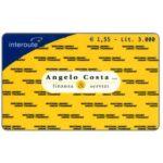 The Phonecard Shop: Italy, Interoute - Angelo Costa, finanza & servizi, € 1,55 / Lit. 3.000