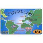 The Phonecard Shop: Italy, I.T.S. - Capital Card, L. 20.000 / € 10,30