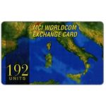The Phonecard Shop: Italy, MCI - Italy, 192 units