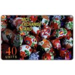 The Phonecard Shop: MCI - Easter eggs, 40 units