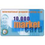 The Phonecard Shop: Italy, Market Card - International Prepaid Calling Card, L. 10.000